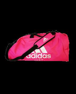 adidas Sporttasche Judo 2 in 1Bag shock pink/silber ADIACC052J