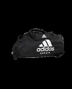 adidas Sporttasche Karate 2 in 1Bag schwarz/weiß ADIACC052K