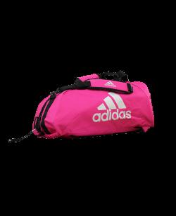 adidas Sporttasche Karate 2 in 1Bag shock pink/silver ADIACC052K