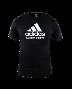 "adidas Community T-Shirt ""Performance"" TAEKWONDO L schwarz/weiß ADICTTKD L"