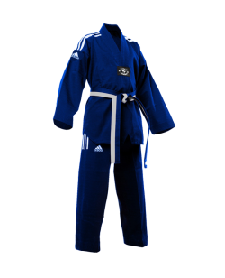 adiTCC01 TKD Champion Color Uniform blau/weiss