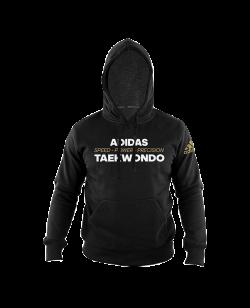 "adidas Community Hoodie TAEKWONDO ""Power"" schwarz adiTHL01"