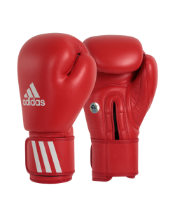 adidas AIBAG1 Boxhandschuh Contest AIBA Licensed rot