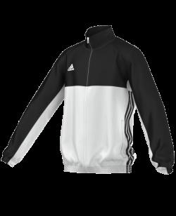 adidas T16 Team JKT YOUTH Jacke schwarz/weiss AJ5322