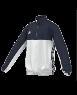 adidas T16 Team JKT YOUTH Jacke blau/weiss AJ5323