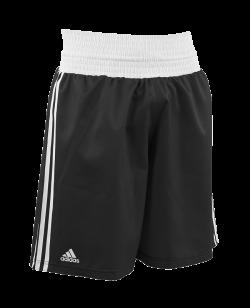 adidas Amateur Boxing Shorts schwarz weiß adiBTS01