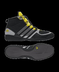 adidas Boxfit 3 Gr. 40 2/3 schwarz/gelb UK 7 G64187