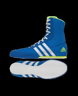 adidas Box Hog 2 Boxerschuhe blau AQ3404