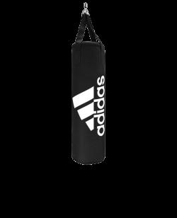 adidas Boxsack Nylon Lightweight schwarz gefüllt m. Kette adiBAC11