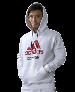 adidas Community Hoodie Karate weiß