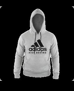 adidas Community Hoodie Kick Boxing grau adiCHKB