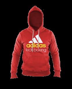 adidas Community Hoodie Kick Boxing rot adiCHKB
