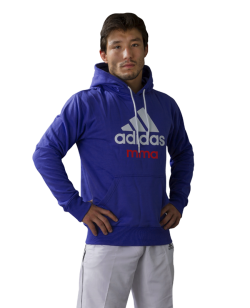 adidas Community Hoodie MMA blau