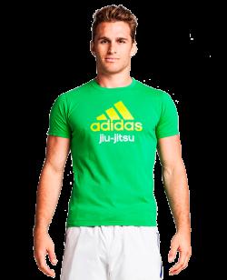 adidas Community T-Shirt JiuJitsu grün  L L