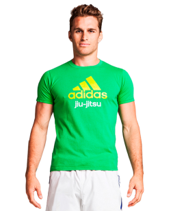 adidas Community T-Shirt JiuJitsu grün L