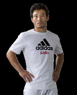 adidas Community T-Shirt Judo weiß