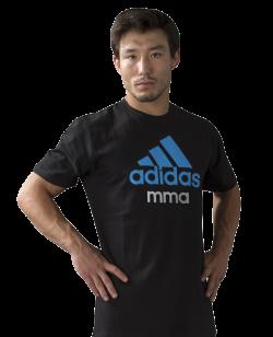 adidas Community T-Shirt MMA schwarz M