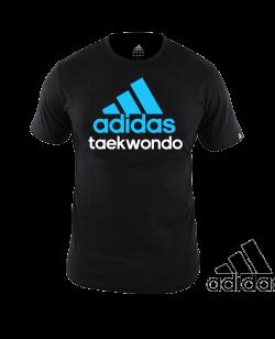 adidas Community T-Shirt TAEKWONDO schwarz