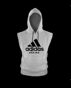 adidas Community Sleeveless Hoody BOXING grau ADICHB/WS
