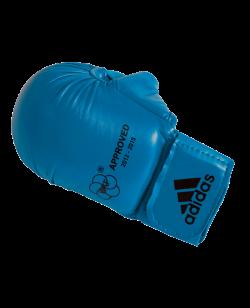 adidas Karate Faustschutz WKF + Daumen, S blau 661.23 S