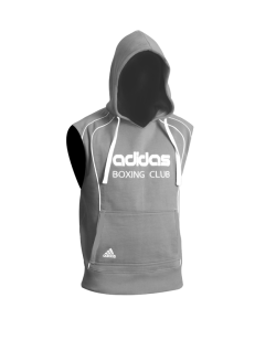 adidas Sleeveless Hoodie Boxing Club grau adiTB081