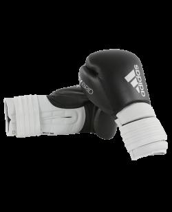 adidas Hybrid 300 Boxhandschuhe schwarz/weiß adiH300