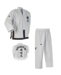 adidas ITF TAEKWONDO Anzug Black Belt Champion cm ADITITF02