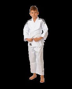 adidas J350 CLUB Judo Einzelhose Gr. 120 cm weiß