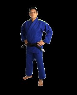 adidas Quest J690 Judoanzug blau