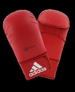 adidas Karate Faustschutz WKF, rot XS