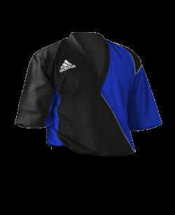 Adidas Kick Boxing Top adiTU010 schwarz/ blau