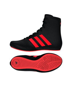 adidas KO Legend 16.2 K Kinderboxschuhe schwarz/rot AQ3513