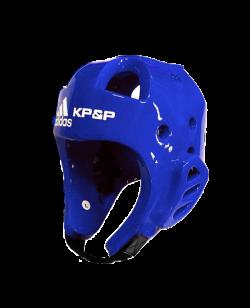 adidas KP&P elektr.Kopfschutz E-Head Gear blau mit Transmitter WTF approved