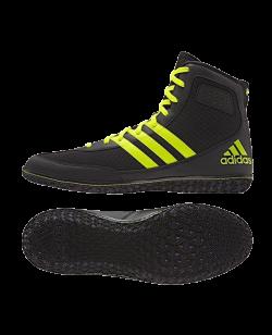 adidas Mat Wizard 3 Ringerschuhe schwarz/gelb