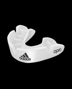 adidas Mundschutz OPRO Gen4 Bronze-Edition Weiss ADIBP31