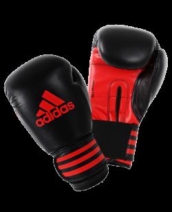 adidas Boxhandschuhe Power 100 schwarz/rot adiPBG100