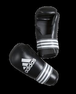 adidas Kickboxhandschuhe Semi Contact Gloves schwarz adiBFC01
