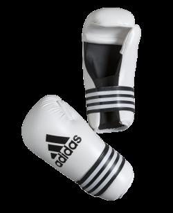 adidas Kickboxhandschuhe Semi Contact Gloves weiß adiBFC01