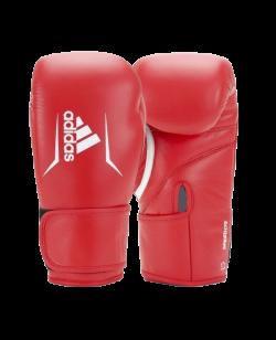 adidas Boxhandschuhe SPEED 175 rot Rindsleder ADISBG175