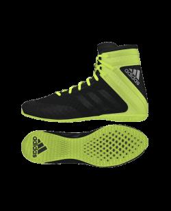 adidas Speedex 16.1 Boxschuhe schwarz/neon AQ3408
