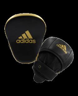 adidas STAR PRO Speed Focus Pad schwarz/gold Paar adiPFP01