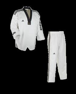 adidas Taekwondo Anzug Supermaster II weiss ADITSM02