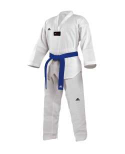 adidas Start Taekwondo Anzug 160cm weißes Revers adiTS01 160cm