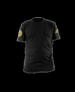 adidas Wako Leisure T-Shirt schwarz/gold adiWAKOT1