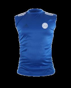 adidas Wako Technical Apparel ärmellos Shirt blau adiWAKOST1