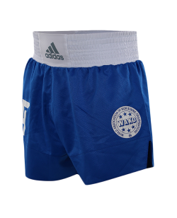 adidas Wako Technical Apparel Kick Boxing Shorts blau adiLKS1