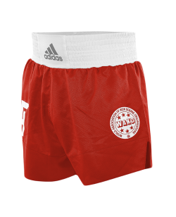 adidas Wako Technical Apparel Kick Boxing Shorts rot adiLKS1