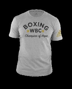 adidas WBC T-Shirt grau ADIWBCTB01