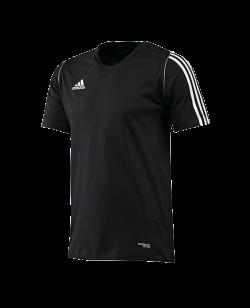 adidas T12 Team Shirt men SS Kurzarm schwarz adi X12935