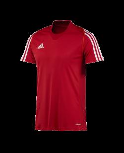 adidas T12 Clima Cool T-Shirt men Kurzarm rot adi X12941